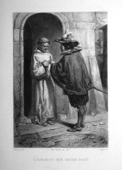 Gilblas et son ancien valet.