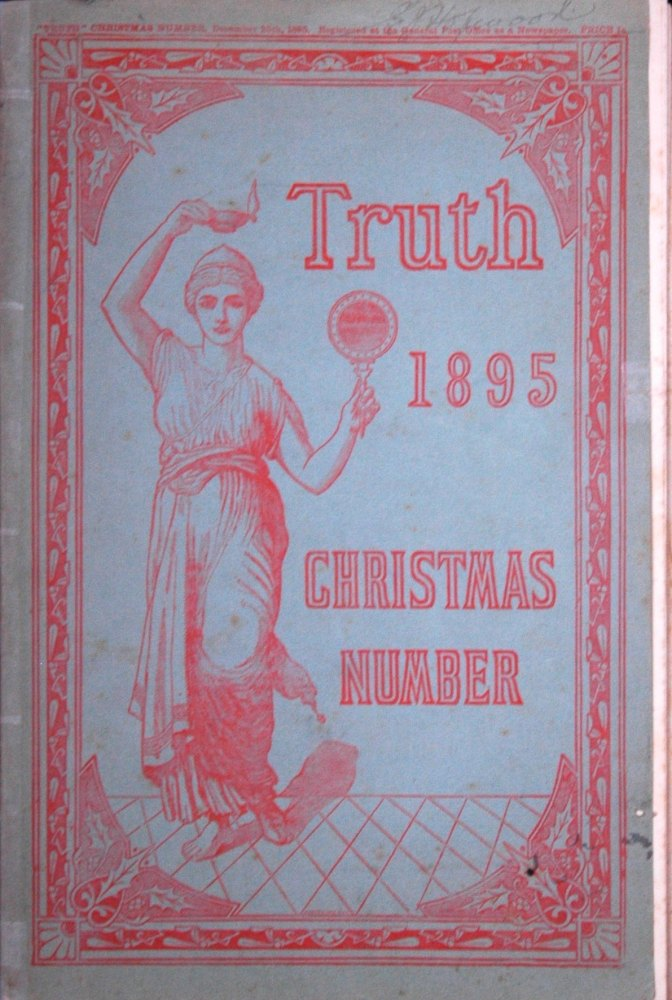 Truth Magazine 1895 Christmas Number.