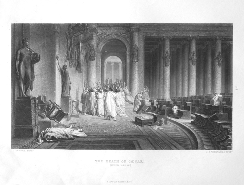 The Death of Caesar.