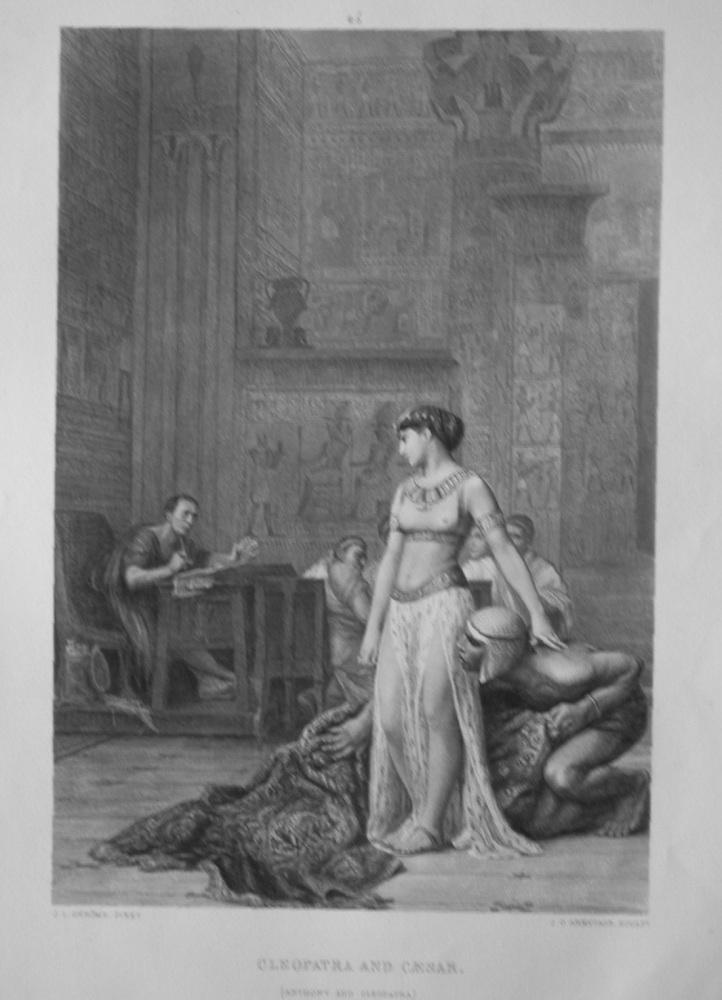 Cleopatra & Caesar.