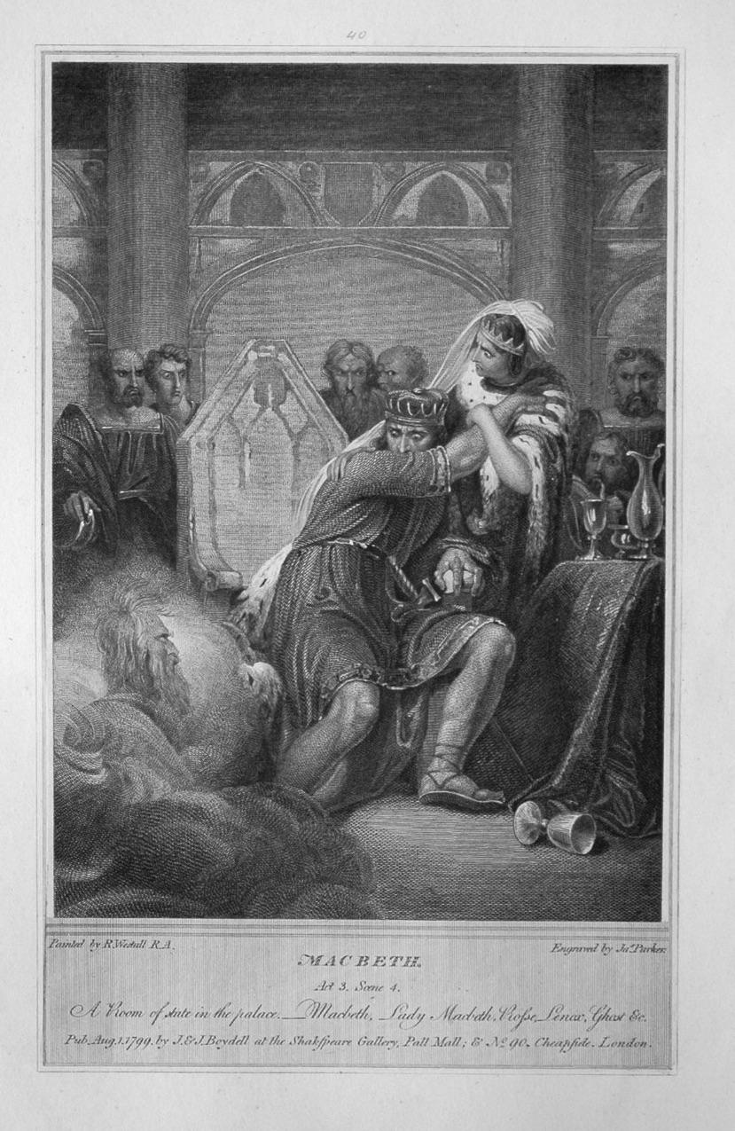 Macbeth. Act 3. Scene 4.