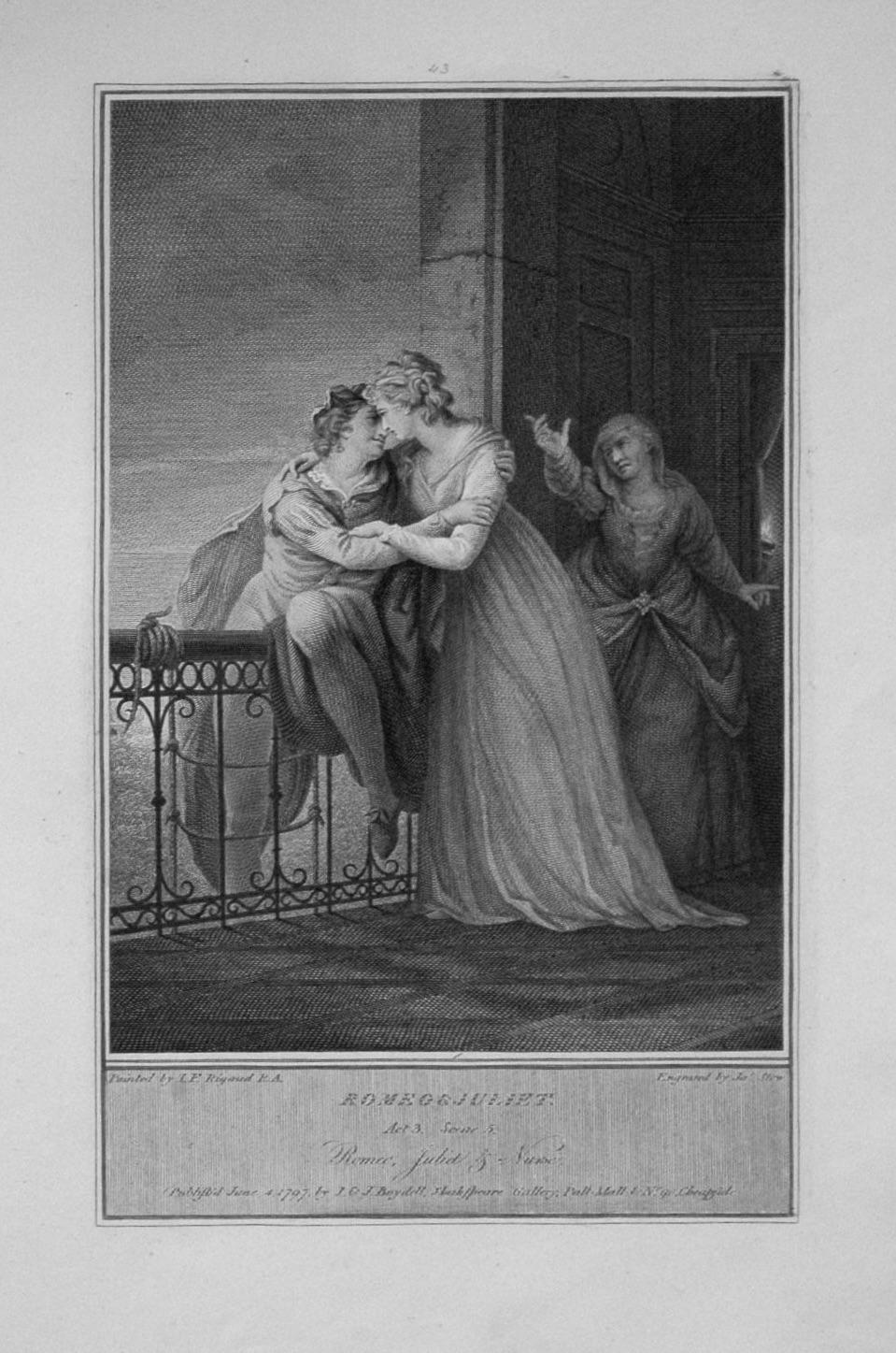 Romeo & Juliet. Act 3. Scene 5.