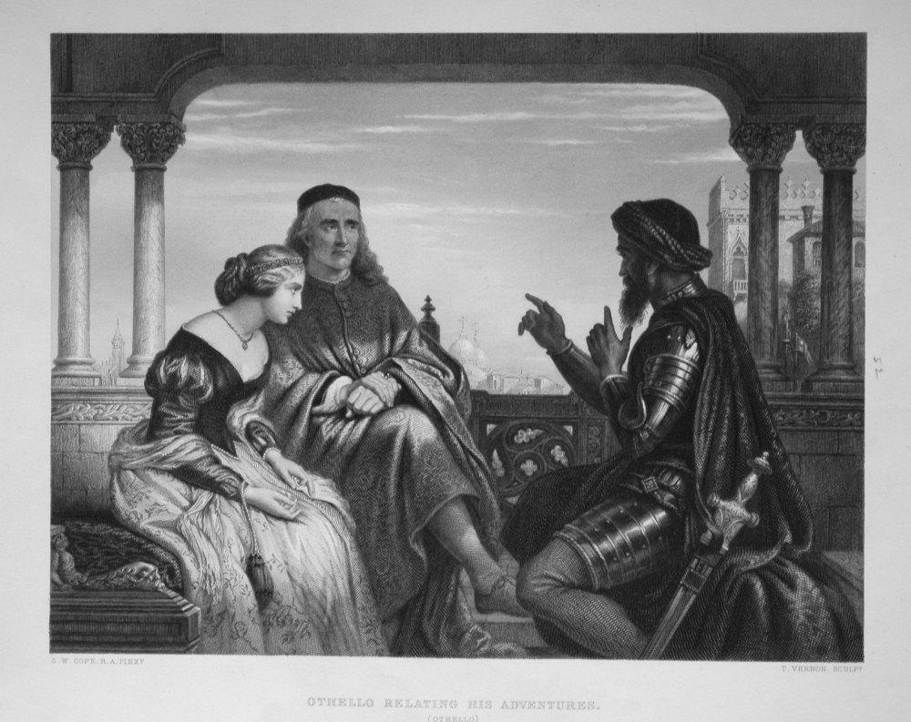 Othello Relating His Adventures.