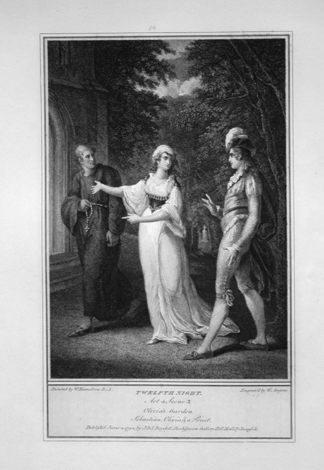 Twelfth Night. Act 4. Scene 3.