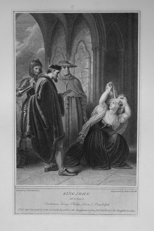 King John. Act 3, Scene 4.