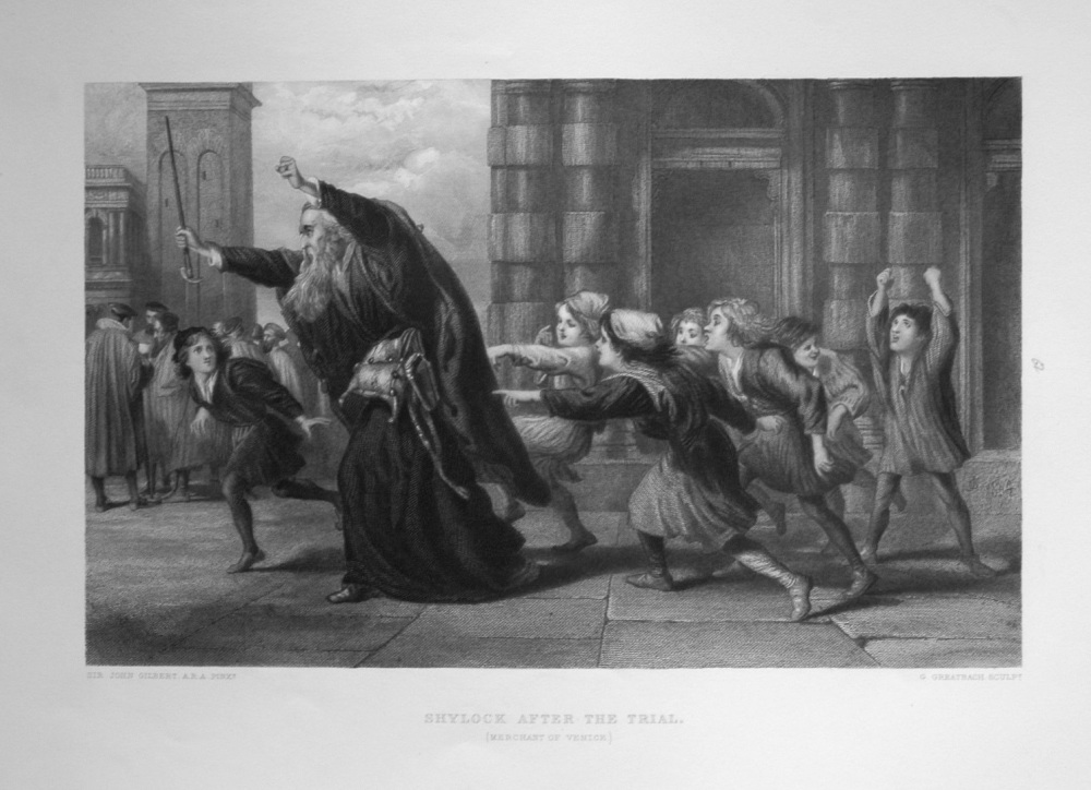 Shylock After The Trial.
