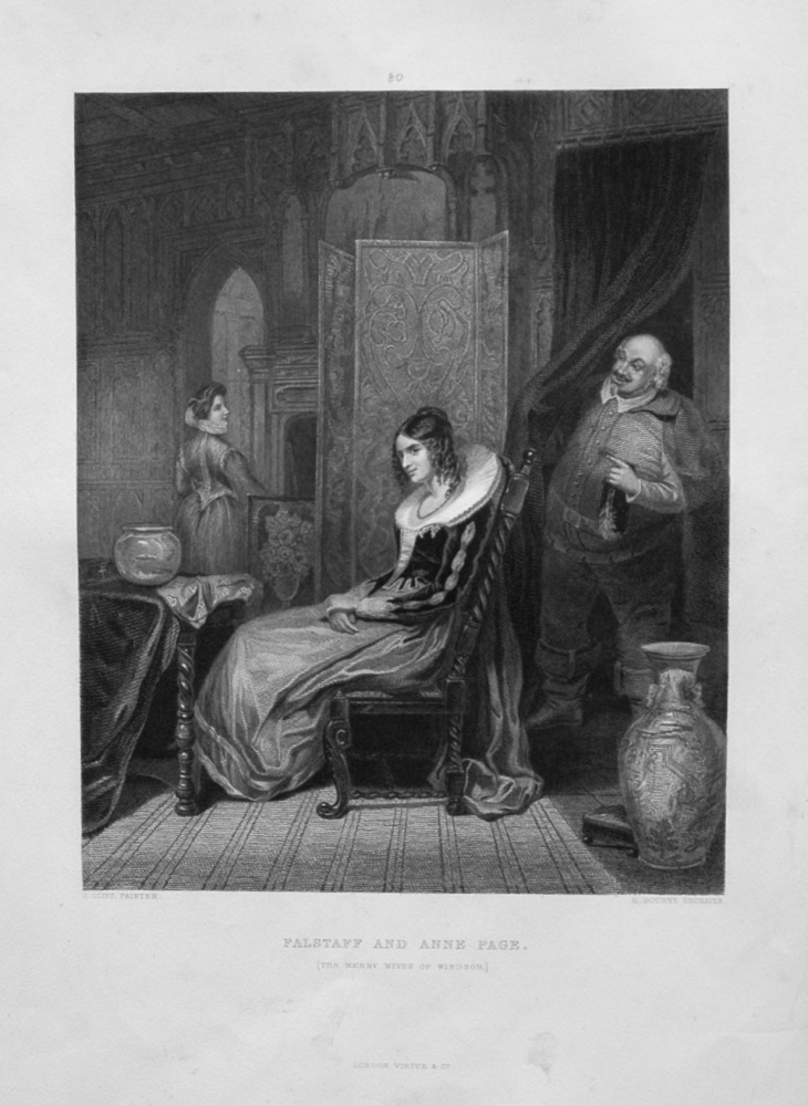 Falstaff and Anne Page.