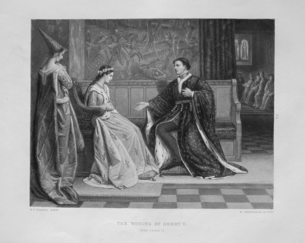 The Wooing of Henry V.