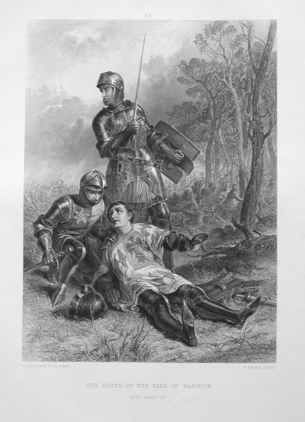 The Death of the Earl of Warwick.