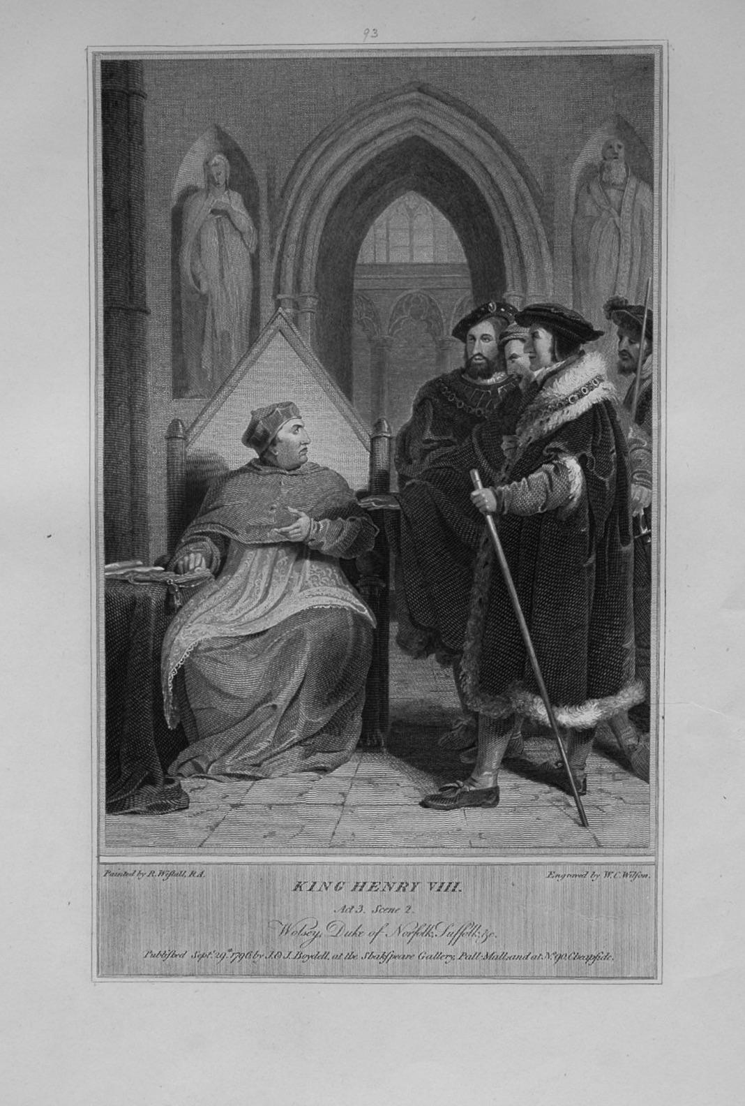 King Henry VIII. Act 3. Scene 2.