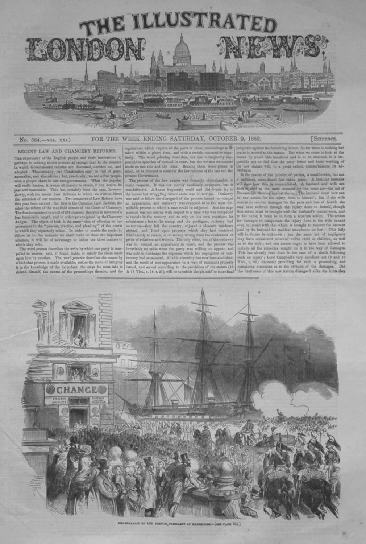 Illustrated London News October 9, 1852.