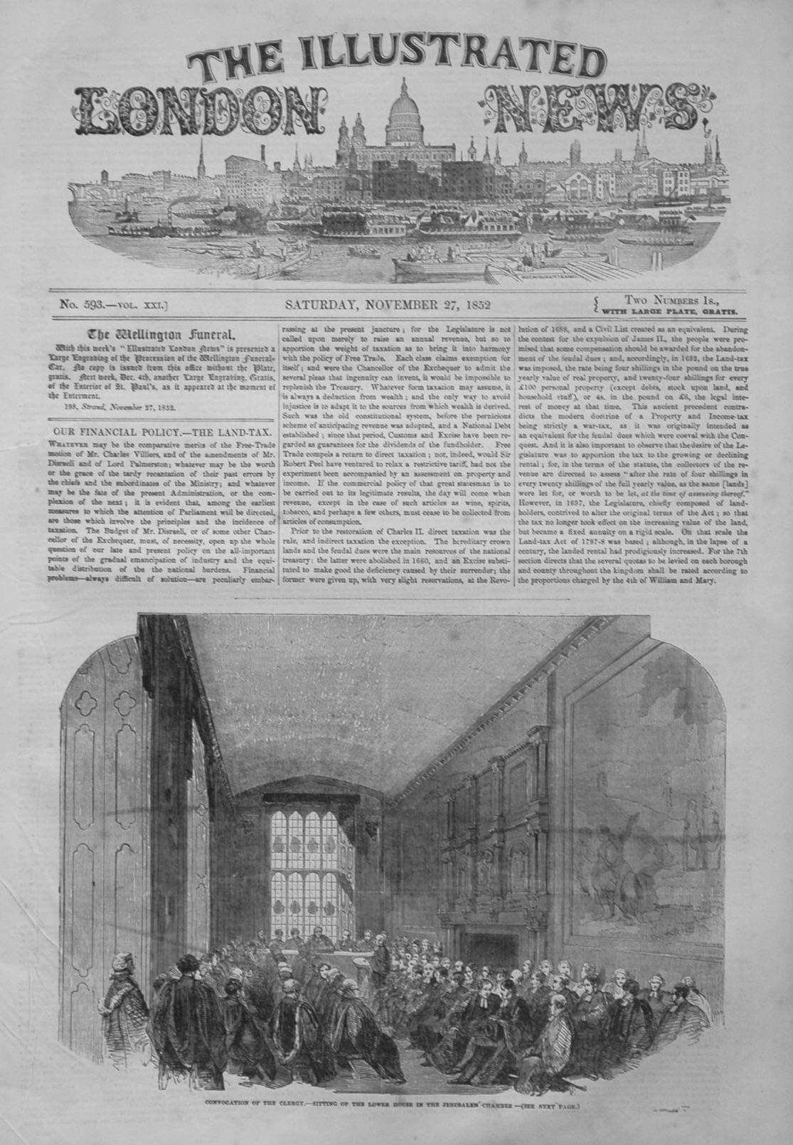 Illustrated London News, November 27, 1852.