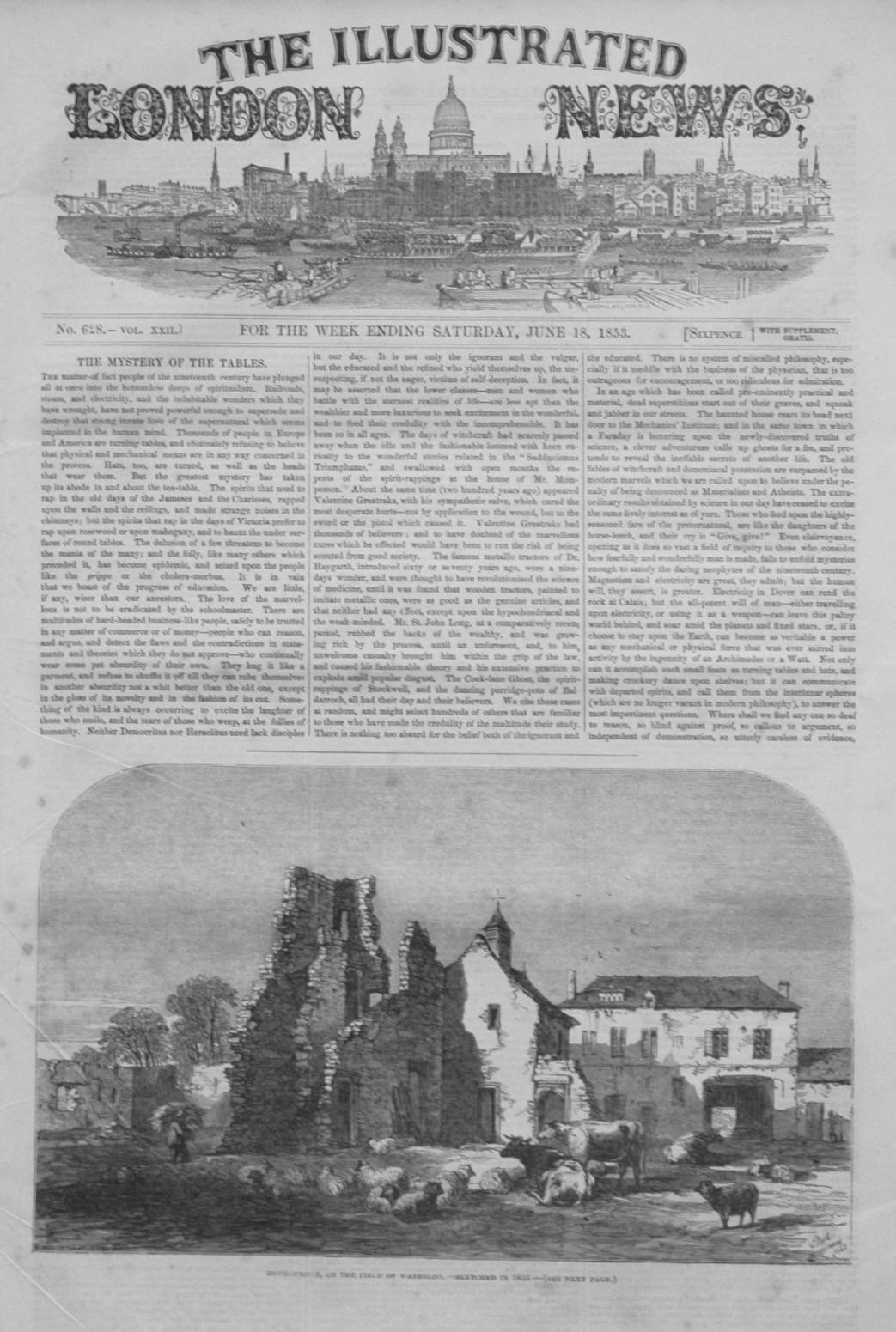Illustrated London News June 18th, 1853.