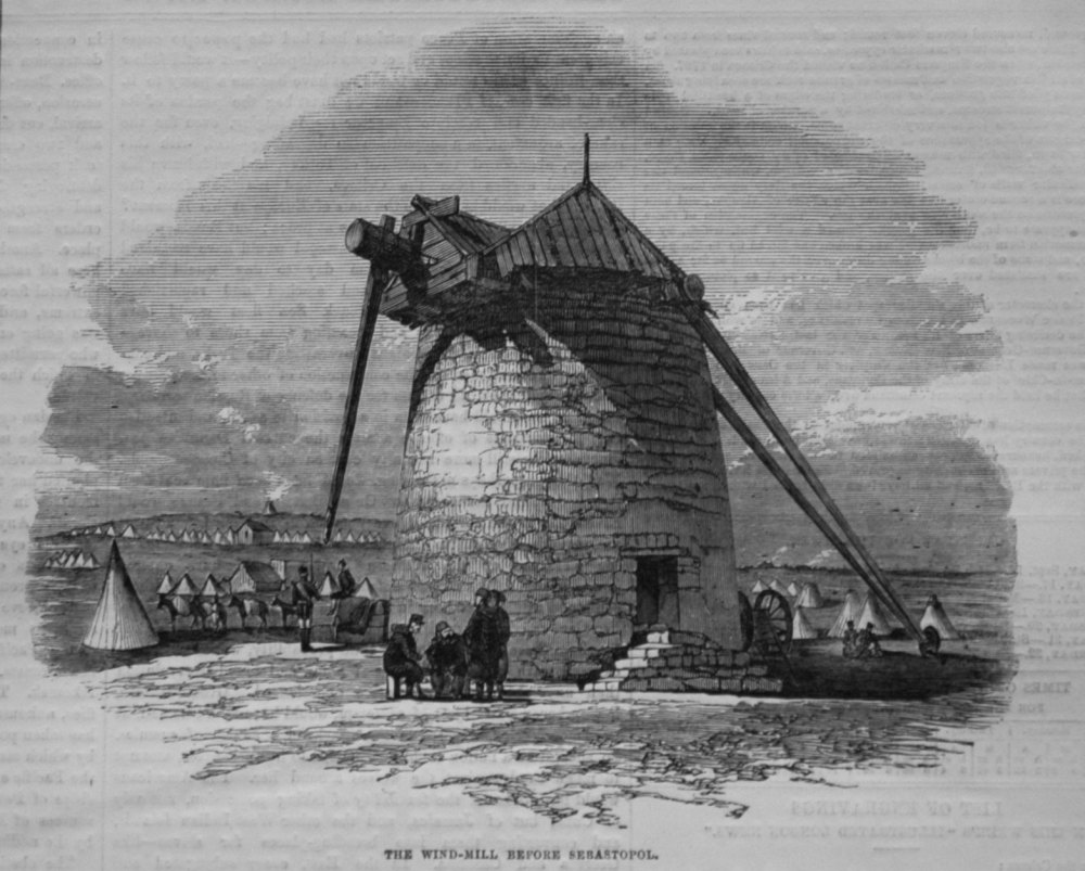 The Wind-Mill Before Sebastopol.