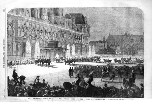 THer Majesty's Visit to Paris. - The Grand Ball at the Hotel De Ville. - Th