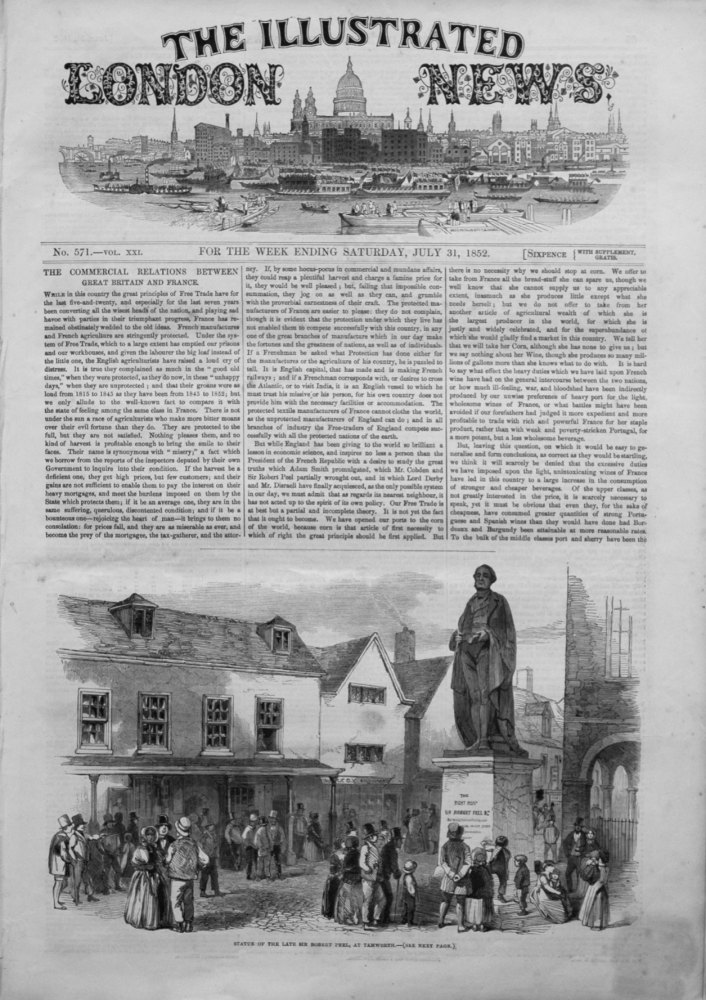 Illustrated London News July 31st 1852.