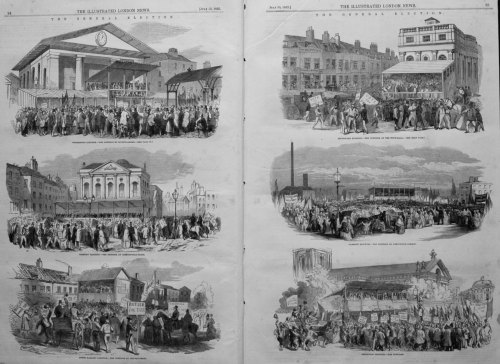 The General Election. 1852.