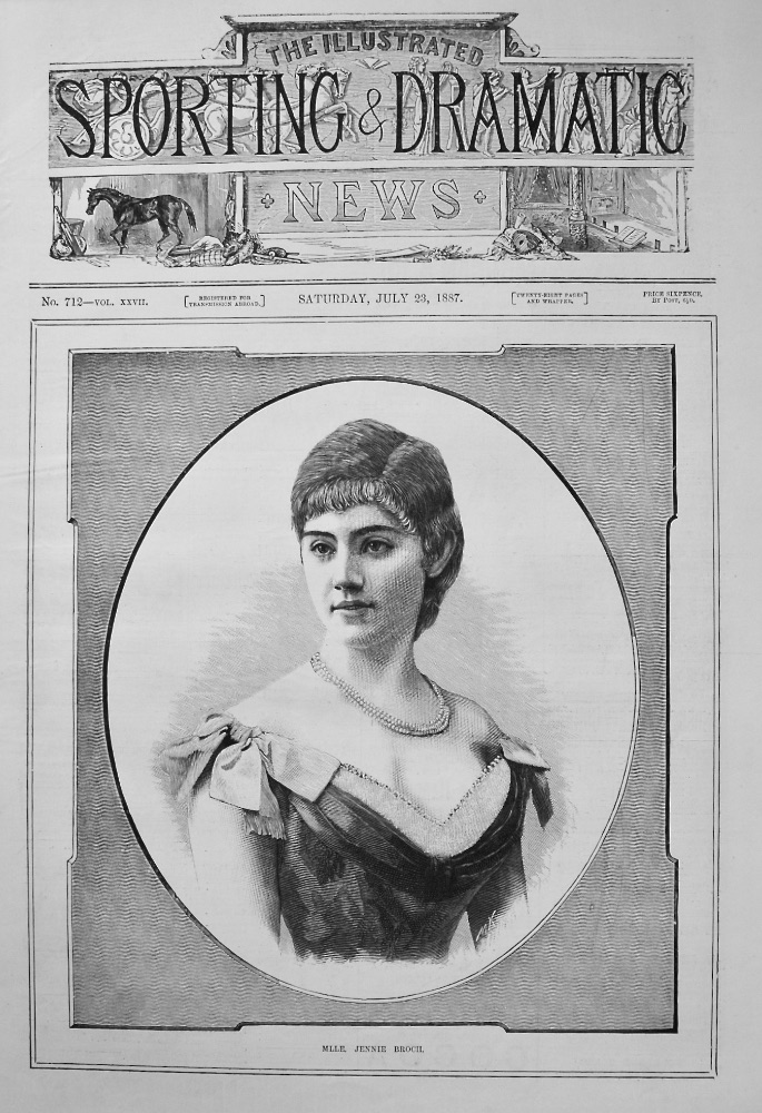 ILLUSTRATED SPORTING & DRAMATIC NEWS