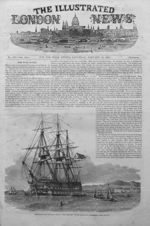 Illustrated London News January 15th 1853.
