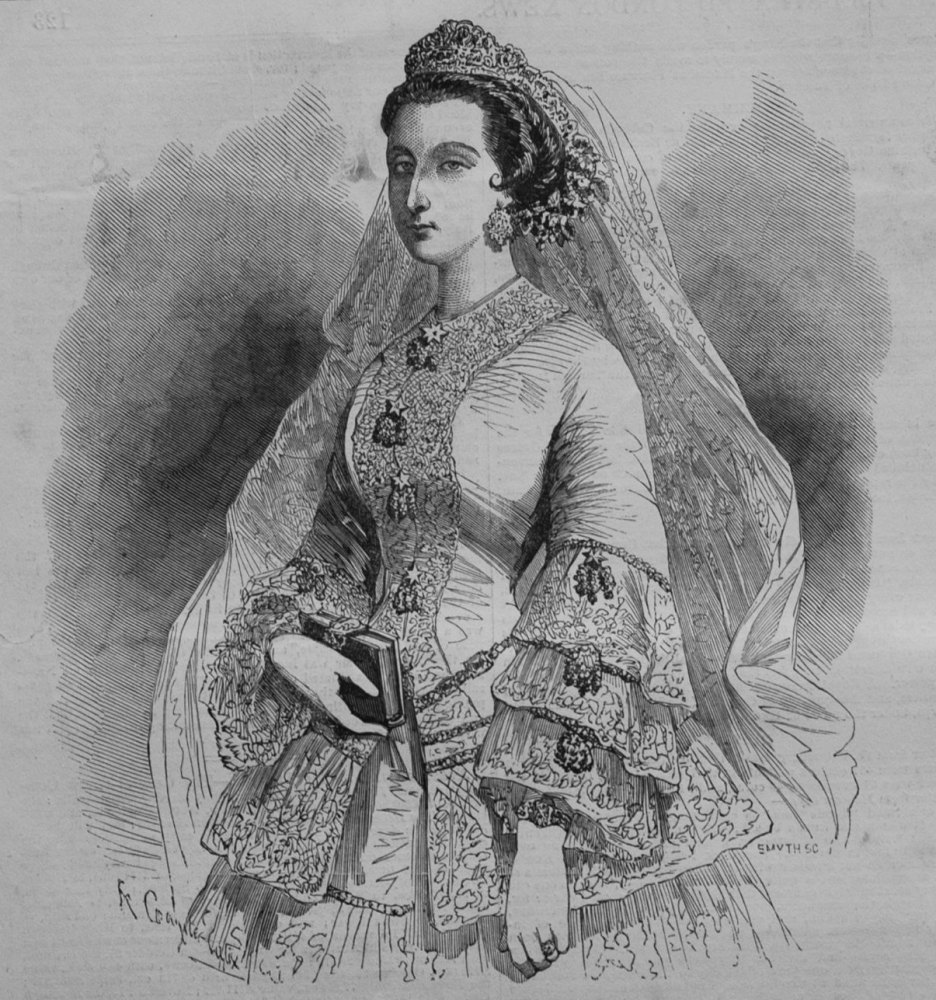 The Empress of the French, in Her Bridal Costume