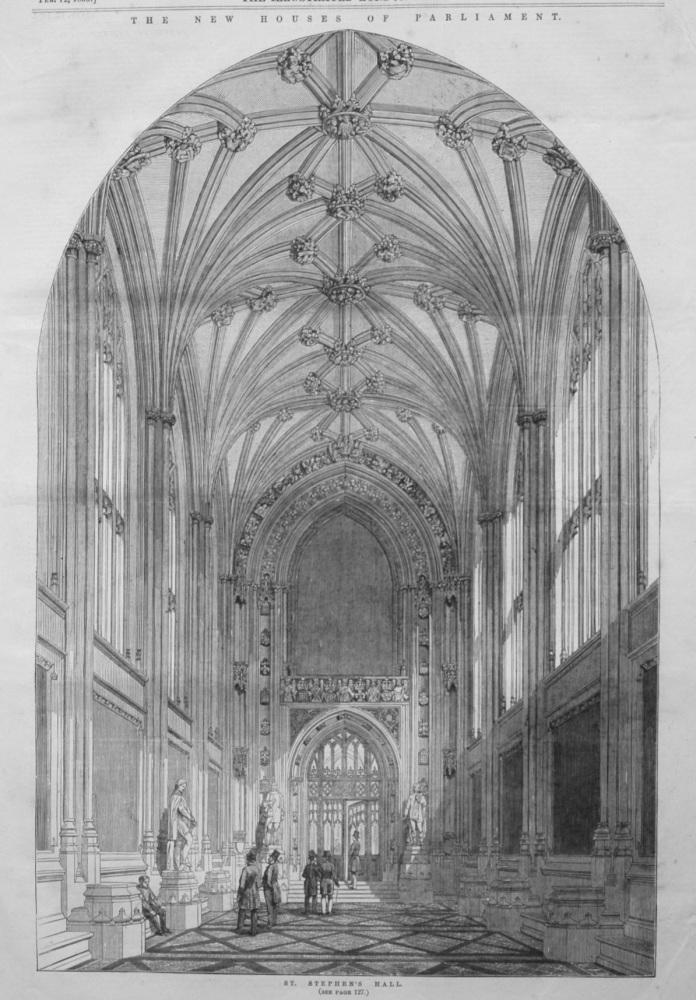 St. Stephen's Hall.