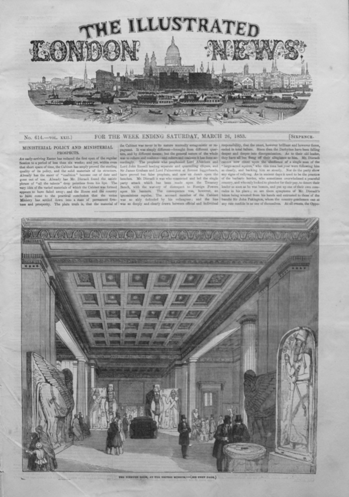 Illustrated London News, March 26th 1853.