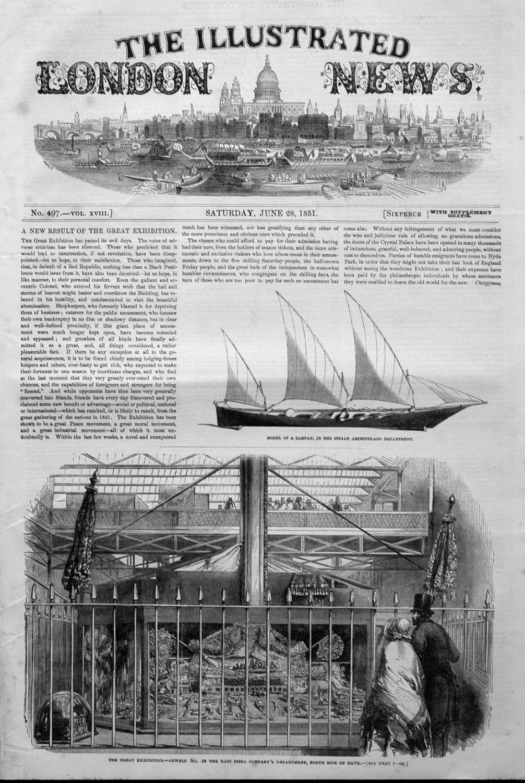 Illustrated London News June 28th 1851.