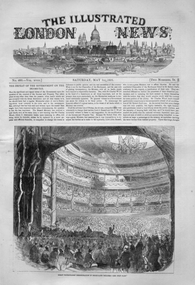 Illustrated London News May 10th 1851.