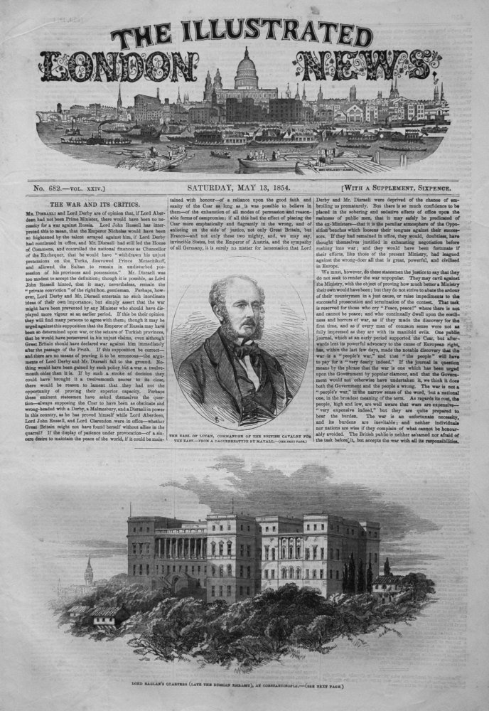 Illustrated London News May 13th 1854.