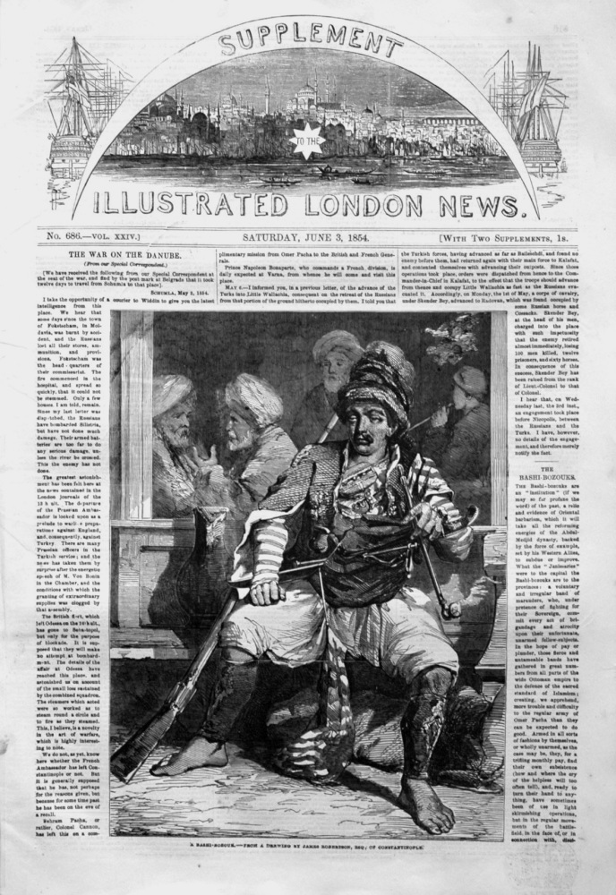 Illustrated London News June 3rd 1854.