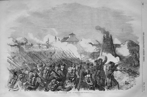 The Battle of Citate. 1854.