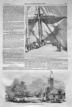 "Alexandria.- The ""Himalaya"" Steam-Ship."