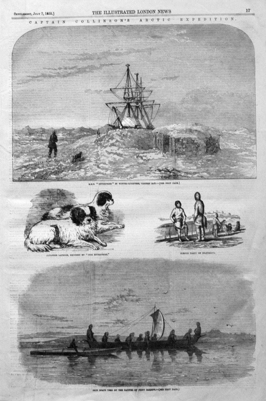 Captain Collinson's Arctic Expedition.
