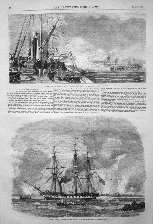 The Baltic Fleet. 1855.