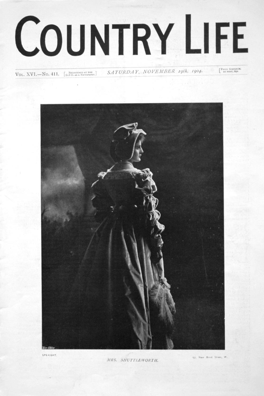 Country Life November 19th 1904.