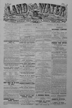 Land and Water. June 23rd. 1900.