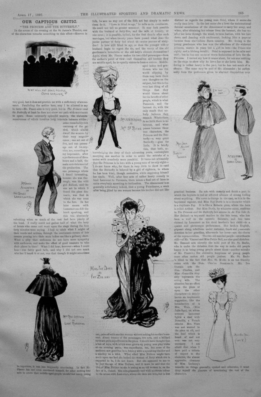 Our Captious Critic, April 17th 1897.