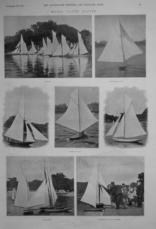 Model Yacht Racing.