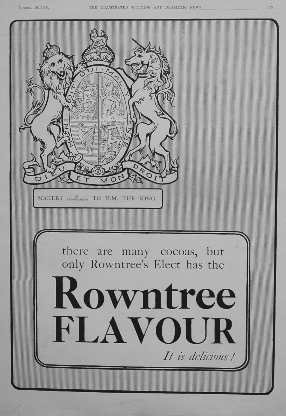 Advert for