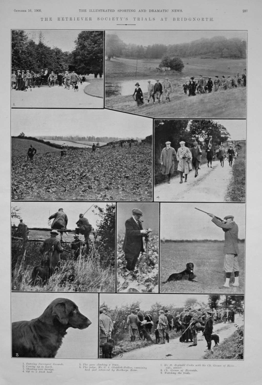 The Retriever Society's Trials at Bridgnorth.
