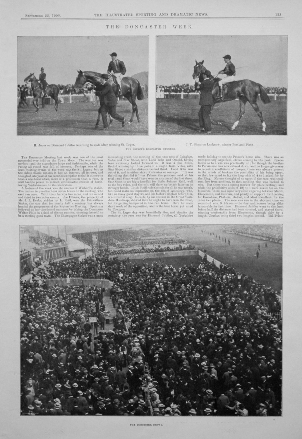 The Doncaster Week, 1900.