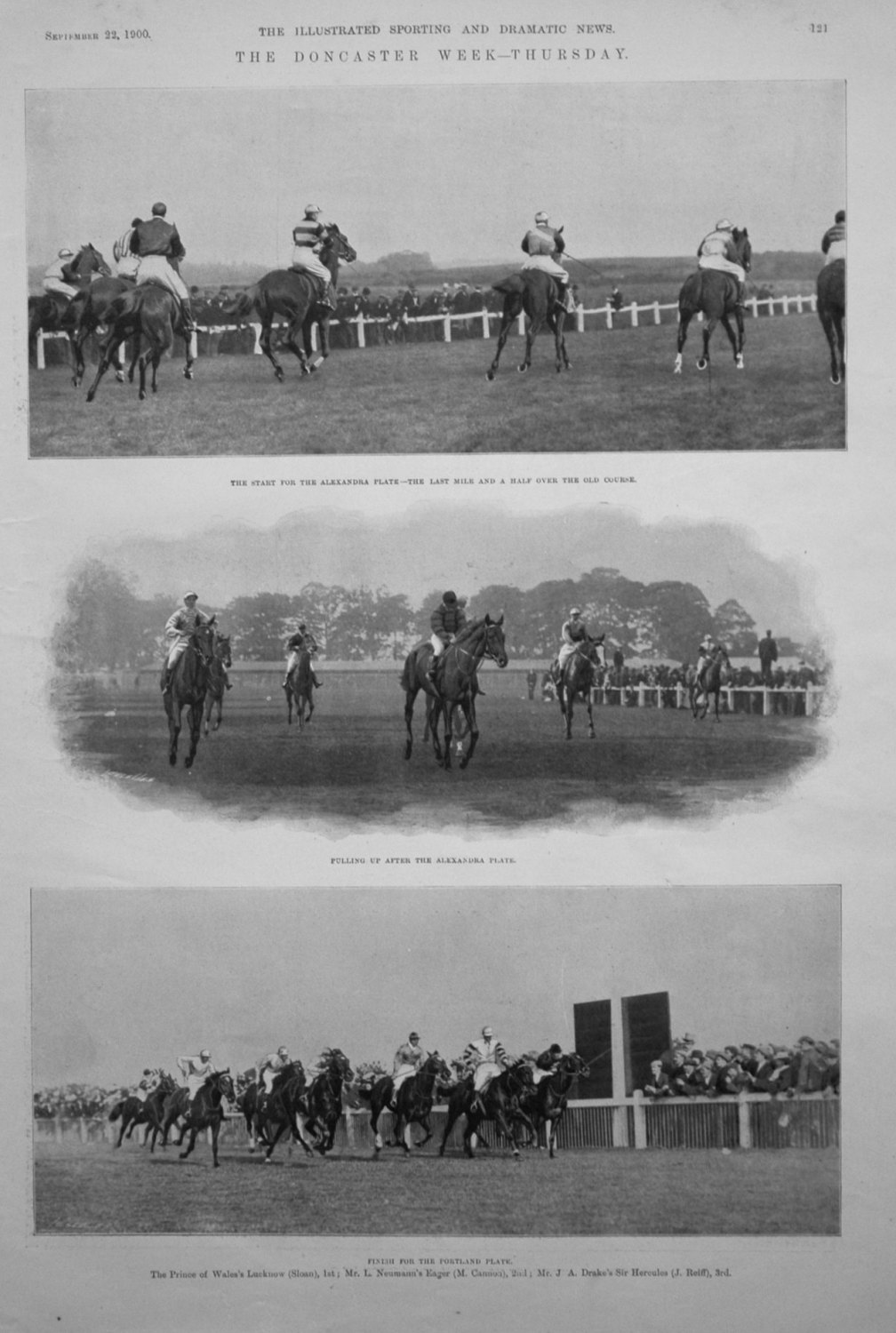 The Doncaster Week - Thursday & Friday 1900.