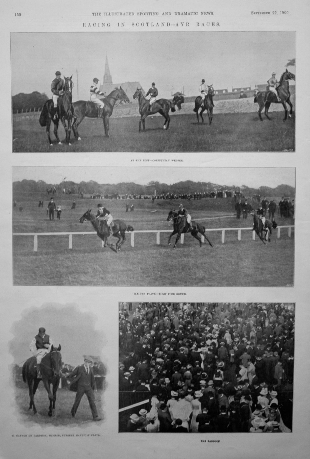Racing in Scotland - Ayr Races.