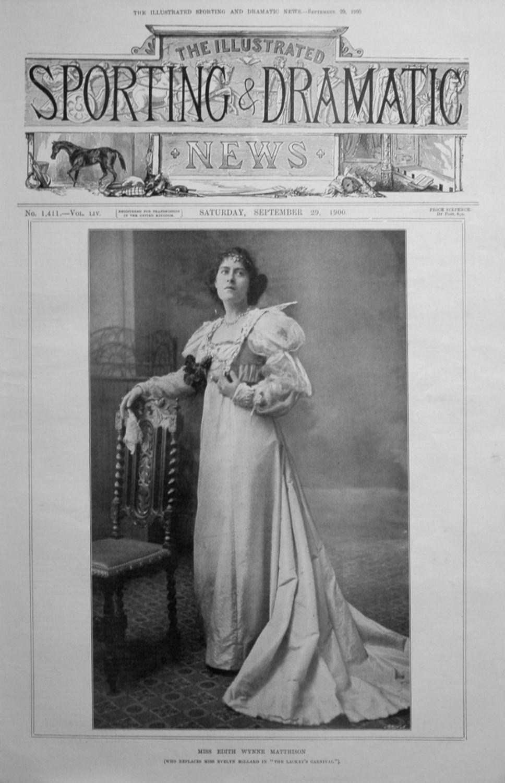 Miss Edith Wynne Matthison.