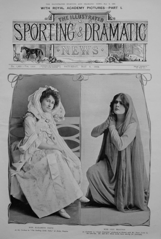 Miss Elizabeth Firth and Miss Lily Brayton.