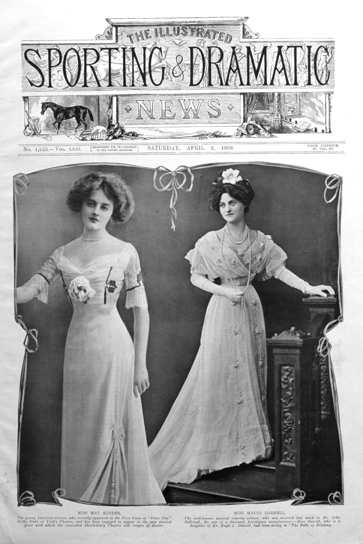 Miss May Kinder and Miss Maudi Darrell.