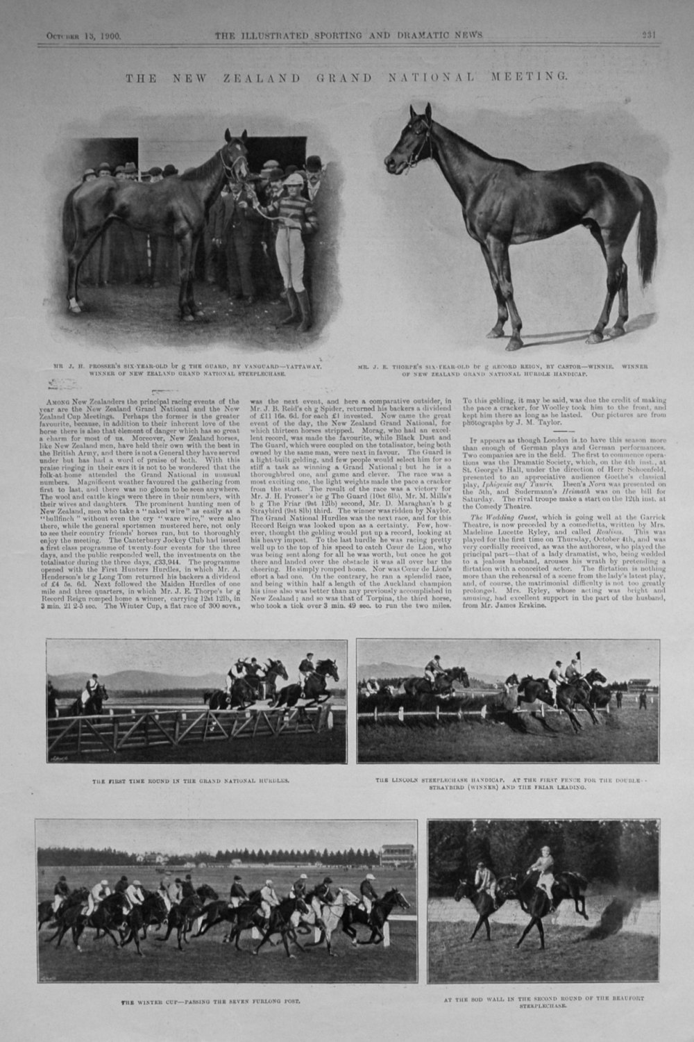 The New Zealand Grand National Meeting. 1900