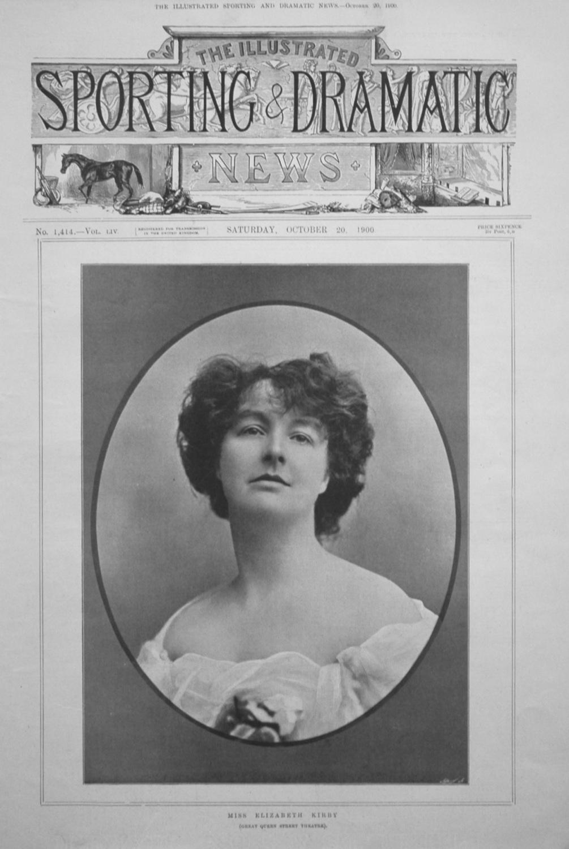 Miss Elizabeth Kirby.