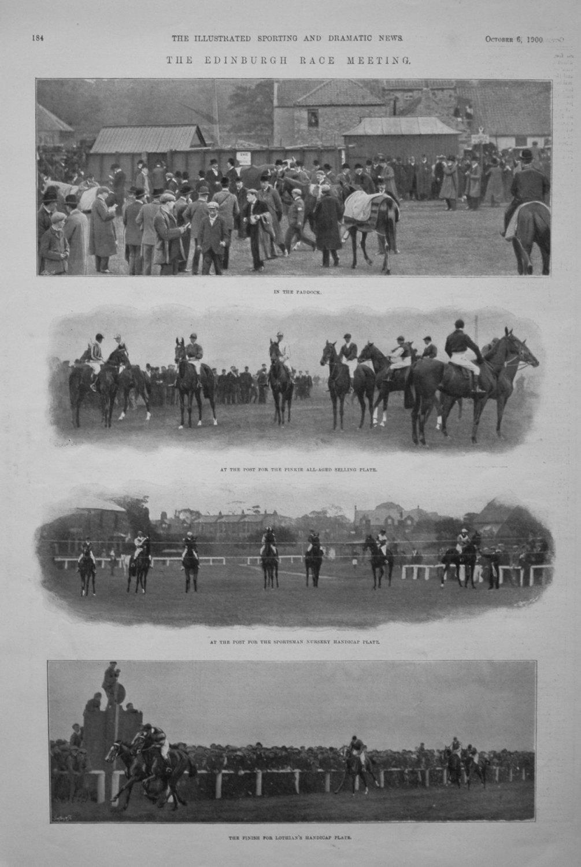 The Edinburgh Race Meeting.
