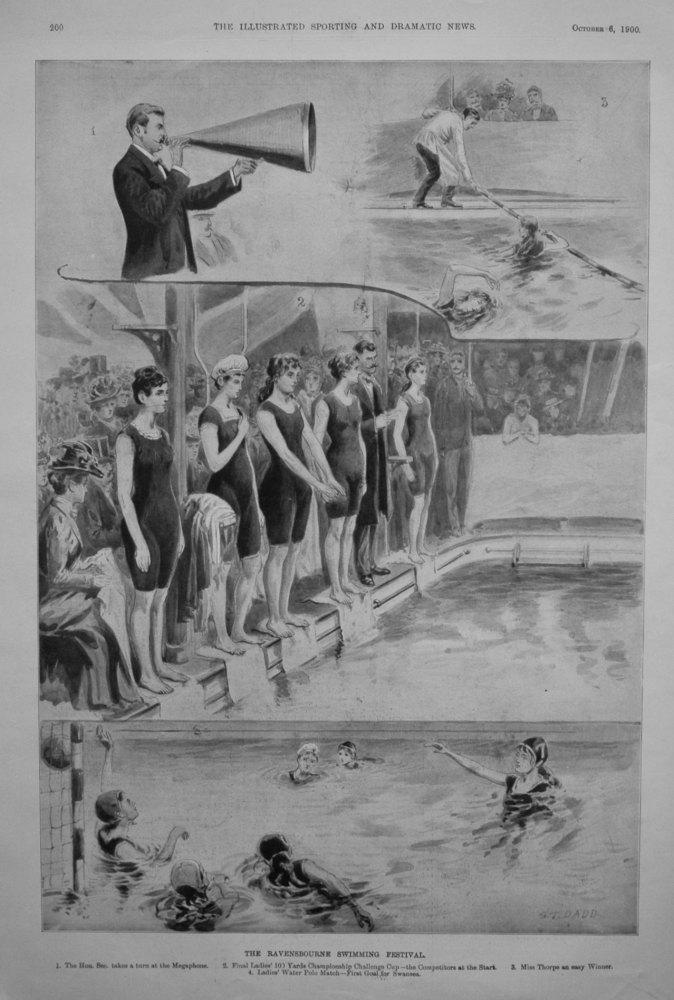 The Ravensbourne Swimming Festival. 1900.
